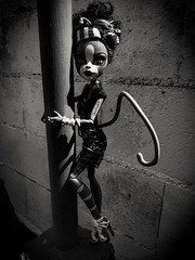 My soul in black and white (skelitah69) Tags: monsterhigh monster mattel doll dolls muecas toys juguetes