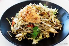 20161112-10-Chicken satay noodle salad at MONA in Hobart (Roger T Wong) Tags: 2016 australia hobart iv mona metabones museumofoldandnewart rogertwong sigma50macro sigma50mmf28exdgmacro smartadapter sonya7ii sonyalpha7ii sonyilce7m2 tasmania chickensatay food lunch noodle salad