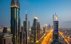 Sheik Zayed Road, Dubai (WT Journal) Tags: uae dubai sheikzayedroad sheraton fourpoints level43
