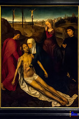 "galleria Doria Pamphilj, Hans Memling, compassion for the Dead Christ with a donor • <a style=""font-size:0.8em;"" href=""http://www.flickr.com/photos/89679026@N00/30989480970/"" target=""_blank"">View on Flickr</a>"