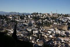 Vista de Granada desde la Alhambra (lamimesis) Tags: granada alambra generalice