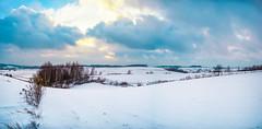 Pasieka (kondex vs mechagodzilla) Tags: winter snow white cloud clouds cloudy sun sunset polska poland polen lubelskie janw landscape krajobraz landschaft zima beautiful