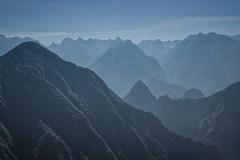 Machu Picchu from afar (Matt S Dawson) Tags: machu picchu mountains sky blue peru light ruins ink flickrtravelaward