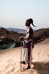 Himba Man 4046 (Ursula in Aus) Tags: africa namibia himba portrait offcameraflash