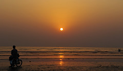 In my own sunset (Ray of Peace) Tags: sunset sea pakistan pakistani photography peaceful peace love rayofpeace sun kirannasir karachi beauty beach seaview hope harmony happiness home heaven magical traveller travel trip tourist enjoy explore emotions gazing watch sunsetandsea