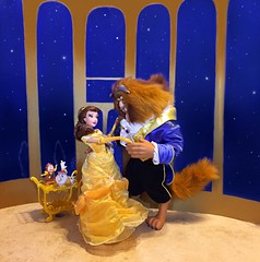 Beauty and the Beast - the Anniversary (Richard Zimmons) Tags: beautyandthebeast disney limited edition princess belle emmawatson doll barbie mattel store le gaston designer dfdc