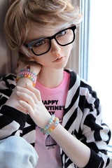 Pastel Boy (Sackielc) Tags: bjd ball jointed doll abjd asian elfdoll vivien dollstown jeremy sd