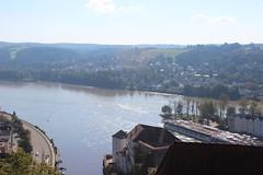 Passau, Meeting of Danube and Inn Rivers (Buster&Bubby) Tags: passau danuberiver innriver ilzriver dreiflüssestadt cityofthreerivers germany danube