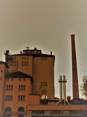 Pedavena (magellano) Tags: pedavena italia italy birreria brewery fabbrica ciminiera factory smokestack birra beer