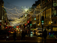 Regent Street, London (Aultone) Tags: london december 2016 christmas xmas night scene lights decorations a7rii sony