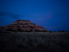 Butte Blues (xjblue) Tags: 2016 october southernutah moab trip canyonlandsnationalpark canyonlands islandinthesky aztecbutte scenic sandstone bluehour sky landscape olympus omdem1 mzuiko17mmf18