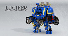 Lucifer Pattern Dreadnought (Garry_rocks) Tags: lego mecha warhammer 40k conversion lucifer dreadnought preheresy
