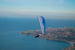 DSC_3050 (Paul Saad) Tags: nikon clouds sky beach sea flying paragliding lebanon jounieh