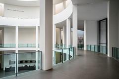 Empty Spaces (*Capture the Moment*) Tags: 2016 artgalleryofmodernarts columns glas glass munich mnchen pinakothekdermoderne rotunda rotunde sky sonya7m2 sonya7mark2 sonya7ii sonyfe1635mmf4zaoss sulen