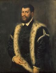 Portrait of a Man in a Lynxed Coat (lluisribesmateu1969) Tags: 16thcentury portrait titian onview kunsthistorischesmuseumwien vienna