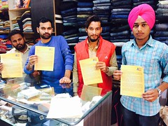 Support of the youth of Punjab for the signature campaign is overwhelming - Bikram Singh Majithia (5) (BikramSMajithia) Tags: akalidal bikramsinghmajithia punjab signaturecampaign againstsyl