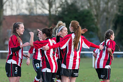 Altrincham LFC vs Stockport County LFC - December 2016-173 (MichaelRipleyPhotography) Tags: altrincham altrinchamfc altrinchamlfc altrinchamladies alty amateur ball community fans football footy header kick ladies ladiesfootball league merseyvalley nwrl nwrldivsion1south nonleague pass pitch referee robins shoot shot soccer stockportcountylfc stockportcountyladies supporters tackle team womensfootball