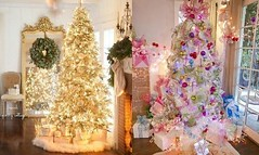 19 Beautiful White Christmas Trees With Elegant Decorating Ideas (haytham.ahmed) Tags: christmastreedecorations whitechristmastreedecorations whitechristmastrees