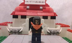 android 17 (updated) (teamfourstud) Tags: decals decal custom android gt dbgt dbz dragonballz z ball dragon dragonball lego android17 17 indoor illustration cartoon white background dragonballgt super drawing text mini figure minifigure figures minifigures