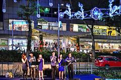 Christmas Carolling (chooyutshing) Tags: caroling performance pedestrianwalkway wismaaitria orchardroad christmasfestival2016 celebratechristmasinsingapore ccis2016 singapore
