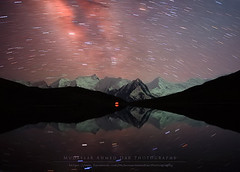 Accidental Classic (Mudassar Ahmed Dar) Tags: pakistan lake night landscape photography star peak glacier rush hunza hooper gilgit monutains