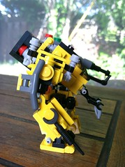 Riesen LF-002 Labor Frame (scifizombie) Tags: mobile lego frame zero mecha mech microscale mfz mobileframezero