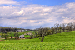 a patch of blue (Van Luvender) Tags: sky clouds spring pennsylvania farm may amish fields lancastercounty mennonite canonef50mmf14usm vanluvender canoneos70d
