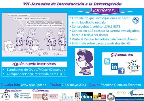 VII Jornadas de Introducción a la Investigación UPCT