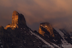 Iceberg Peak Sunrise (hike734) Tags: pillar b7