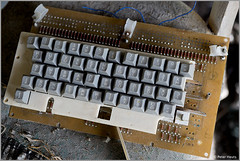 Duga-3 Control Keyboard (Peter Heuts) Tags: photography woodpecker fotografie object secret military sony ukraine full peter 99 soviet frame alpha russian radar zone chernobyl exclusion oth tsjernobyl a99 oekraïne overthehorizon дуга heuts peterheuts duga3 russianwoodpecker doega3 дуга3