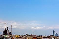 priapus skyline (Ramasi R.) Tags: barcelona españa espanha catalunya torreagbar cataluña sagradafamília espanya jeannouvel antonigaudí catalunha templeexpiatoridelasagradafamília ramasi ramasir