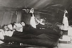 Soldiers and nurses in ward at West Mudros (statelibrarywa) Tags: hospital wounded wwi greece worldwarone soldiers ward nurses lemnos 19141918 australianarmynursingservice