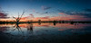 Campbell's Swamp Panorama (Jeff 05) Tags: sunset pwpartlycloudy