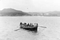 landing old style (heritagetrustcolonsayandoransay) Tags: sea water ferry pier boat fishing sailing ship yacht transport sail shipping calmac export