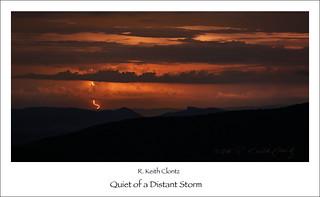 Quiet of a Distant Storm