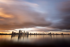 Cloudy Forecast (Photos By Dlee) Tags: city longexposure urban storm clouds canon landscape naturallight perth canonef1740mmf4lusm westernaustralia urbanlandscape 6d ndfilter canon6d photosbydlee photosbydlee13