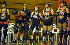 Pirate City Rollers Presents This Means war (Peter Jennings 19.5 Million+ views) Tags: new city girl this slam dangerous war all curves mount peter auckland zealand presents pirate nz roller vs rollers pivot militia jam derby means jennings blockers jammers bout broadside brawlers