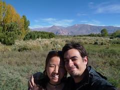 Somewhere in between Mendoza and Puente del Inca 2