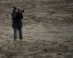 Festivits Western de St-Victor 2014 : Petite pense pour la photographe officielle sur le terrain (dans la boue) (eburriel) Tags: school summer horse canada photo cowboy image western rodeo beauce 2014 stvictor ipra erq rodoprofessionnelerq