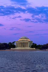 Sunrise with Tom (APGougePhotography) Tags: detail photoshop dc washington nikon memorial clarity adobe jefferson topaz lightroom d600 denoise topazlabs