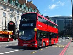 Stagecoach London 13022 (Waterford_Man) Tags: hybrid wrightbus selkent stagecoachlondon 13022 bg14ont