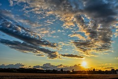 After the Storm (Dave McGlinchey) Tags: uk sunset sky sun weather clouds star nikon skies sundown cloudy afterthestorm waterdroplets icecrystals cloudscapes d7100 nikonafsdxzoomnikkor1855mmf3556gedii cloudsstormssunsetssunrises
