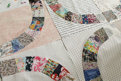 Liberty Single Girl progress (_name_taken_) Tags: libertyoflondon denyseschmidt singlegirlquilt lowvolumefabric