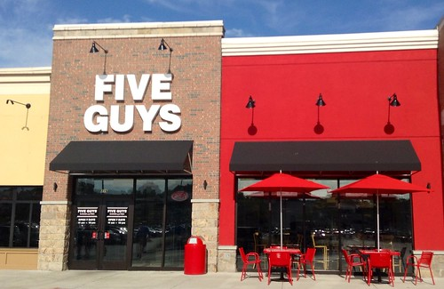 Five Guys by JeepersMedia, on Flickr