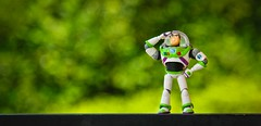 Buzz Lightyear (yudho w) Tags: life canon buzz toy photography still bokeh story lightyear revoltech
