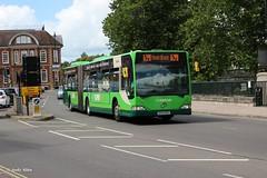 Arriva Midlands 5000 BX04MYG (Andy4014) Tags: bus leicester shrewsbury bendy arriva citaro bx04myg