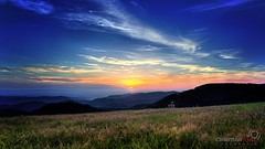 Zuflucht (Christian Jung Fotografie) Tags: sonnenuntergang wolken aussicht sonne schwarzwald liebe gegenlicht einsam romantik genuss zuflucht
