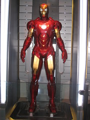 Ironman armor - IMG_6789 (tend2it) Tags: california movie losangeles mark disneyland ironman armor rides marvel mk attractions