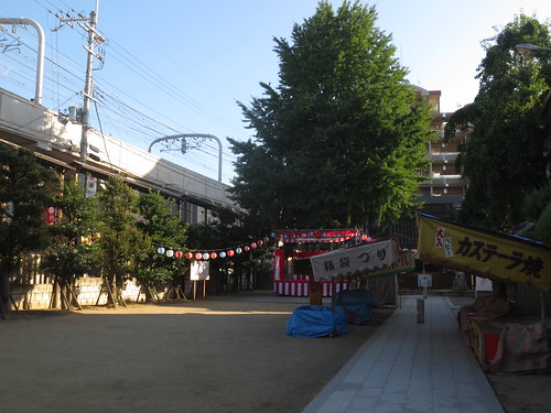 神社の祭り