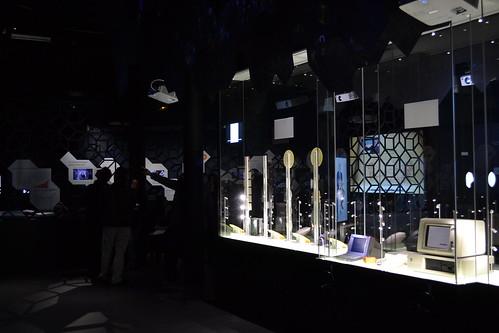 Exposition permanente à la Cité des télécoms (2014)